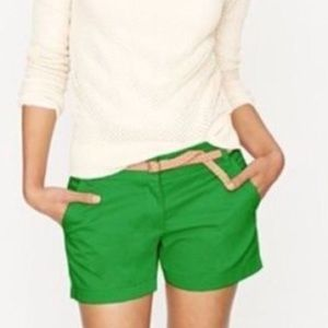 J. Crew Kelly Green Broken-In Chino Shorts